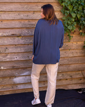 Load image into Gallery viewer, Admiral Blue Linen Shirt - Beths Emporium