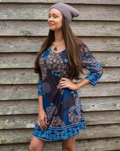Ocean Blue Knit Shirt or Dress - Beths Emporium