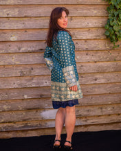 Load image into Gallery viewer, Green & Gold Boho Jacket - Beths Emporium