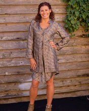 Load image into Gallery viewer, Tortilla & Silver Boho Jacket - Beths Emporium