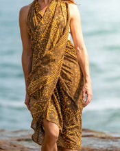 Load image into Gallery viewer, Artisan Sarong - Sunshine Summer - Hand Block Printed - 100% Cotton