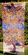 Load image into Gallery viewer, Cashmere Impressionist Art Scarf - van Gogh : The Olive Tree