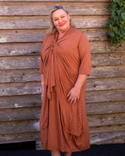 Load image into Gallery viewer, Terracotta Jersey Dress - Beths Emporium