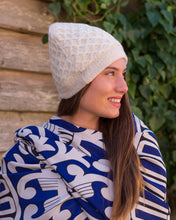 Load image into Gallery viewer, Light Scarf or Shawl - Blue & White - Beths Emporium