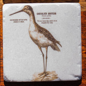 Set of Coasters - French Birds - Beths Emporium