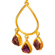 Load image into Gallery viewer, Hand Crafted Amethyst Earrings - One Off Handmade - Beths Emporium