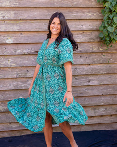 Rust dress - Beths Emporium