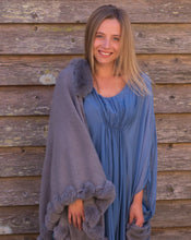 Load image into Gallery viewer, Ocean Blue Silky Shirt or Dress - Beths Emporium