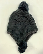 Load image into Gallery viewer, Grey Beanie with Pom Poms - Beths Emporium