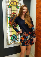 Load image into Gallery viewer, Flower Power Knit Shirt or Dress - Beths Emporium