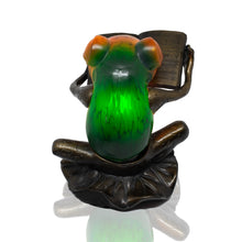 Load image into Gallery viewer, Frog Lamp - Book - Beths Emporium