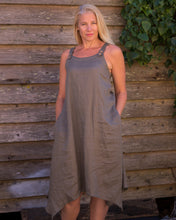 Load image into Gallery viewer, Strappy Dress - Khaki - Beths Emporium