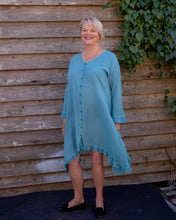 Load image into Gallery viewer, Aqua blue dress - Beths Emporium