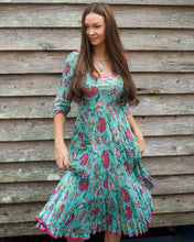 Load image into Gallery viewer, The Magic Dress - Teal & Pink - Beths Emporium