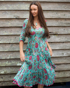 The Magic Dress - Teal & Pink - Beths Emporium