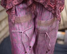 Load image into Gallery viewer, Pastel Pink Silky Boho Gypsy Pants - Beths Emporium