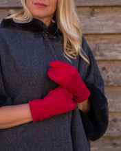 Load image into Gallery viewer, Crimson Red Gloves - Beths Emporium