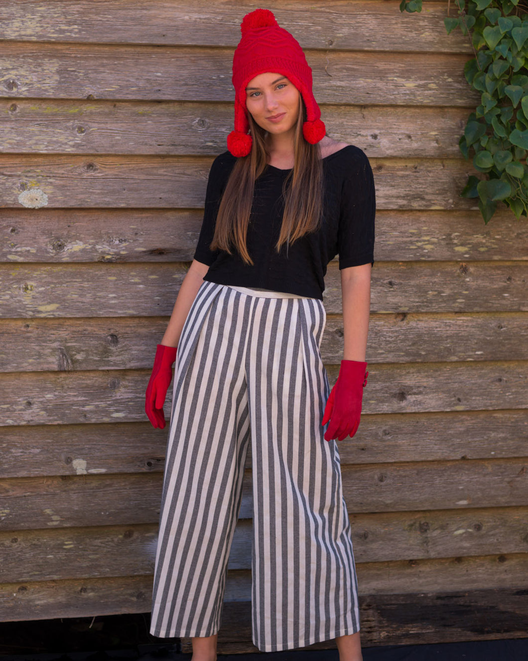 Stripped Pants - Beths Emporium