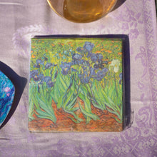 Load image into Gallery viewer, Napkins, van Gogh's Irises - Impressionist Art - Beths Emporium