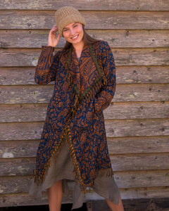 Soft Boho Indian Jacket - Rust - Beths Emporium