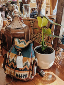 Persian Hand-stitched Kilim Backpack small - Beths Emporium
