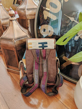 Load image into Gallery viewer, Persian Hand-stitched Kilim Backpack small - Beths Emporium