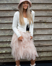 Load image into Gallery viewer, Blush Tiered Tulle Tutu Skirt - Beths Emporium