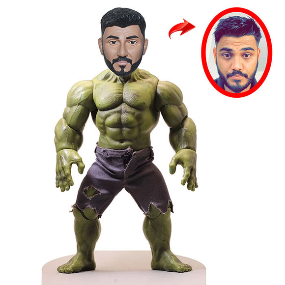 Custom Made Hulk Bobblehead Doll, Personalized Hulk Figure - Abobblehead.com