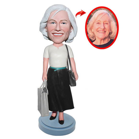Custom Bobbleheads Unique Gifts For Mother, Best Gift For Mother's Birthday - Abobblehead.com