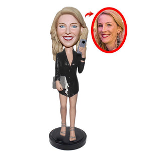 Custom Generic Businessman Bobbleheads, Best Gifts For Business Executives - Abobblehead.com