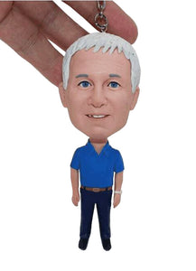 Custom Bobblehead Keychains, Personalized Keychains For Him, Personalizrd Action Figure Keychains - Abobblehead.com