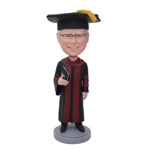 Custom Judge Bobbleheads, Gifts For Lawyer, Personalized Professor Bobblehead - Abobblehead.com