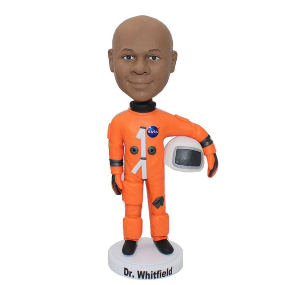 Custom Astronaut Bobblehead Adults, Gifts For Future Astronauts, Custom Astronaut Figurine - Abobblehead.com