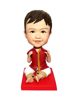Custom Baby Bobblehead From Photo, Custom Bobbleheads For Kids - Abobblehead.com