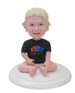 Custom Bobble Heads Of Your Kids, Custom Bobblehead For Baby From Photos - Abobblehead.com