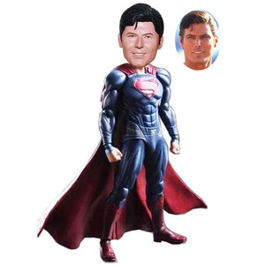 Custom Superman Bobbleheads Action Dolls 9.6 Inches High, Build Your Own Superman Bobblehead - Abobblehead.com