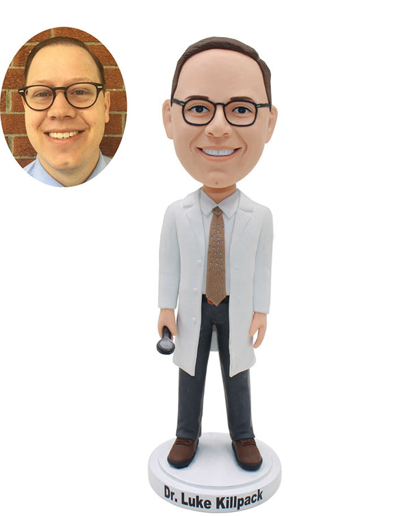 Custom Medical Doctor Bobblehead Figurines As Unique Doctor Gifts - Abobblehead.com