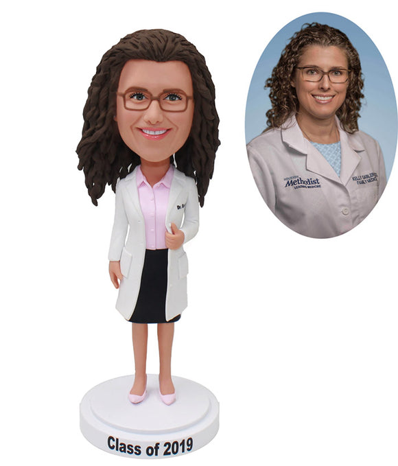 Make A Bobbleheads Intern, Medical Worker, Doctor From Photos Of Yourself - Abobblehead.com