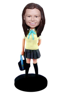 Custom Bobblehead Best Gifts For School Students, Custom Baby Bobbleheads Look Like My Baby - Abobblehead.com