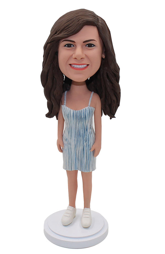 Personalized Bobbleheads Cheap, Create Your Own Bobblehead Beauty - Abobblehead.com