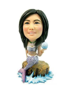 Custom Mermaid Bobblehead That Look Like You - Abobblehead.com