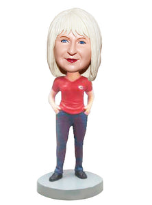 Customized Bobblehead Women, Make Your Own Bobble Head Cheap - Abobblehead.com