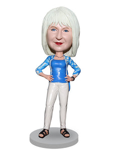 Custom Dolls that Look Like You Women, Personalized Action Figure Of Yourself - Abobblehead.com