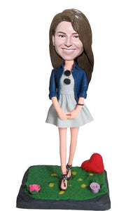 Custom Bobbleheads Best Unique Gifts for Girlfriend - Abobblehead.com