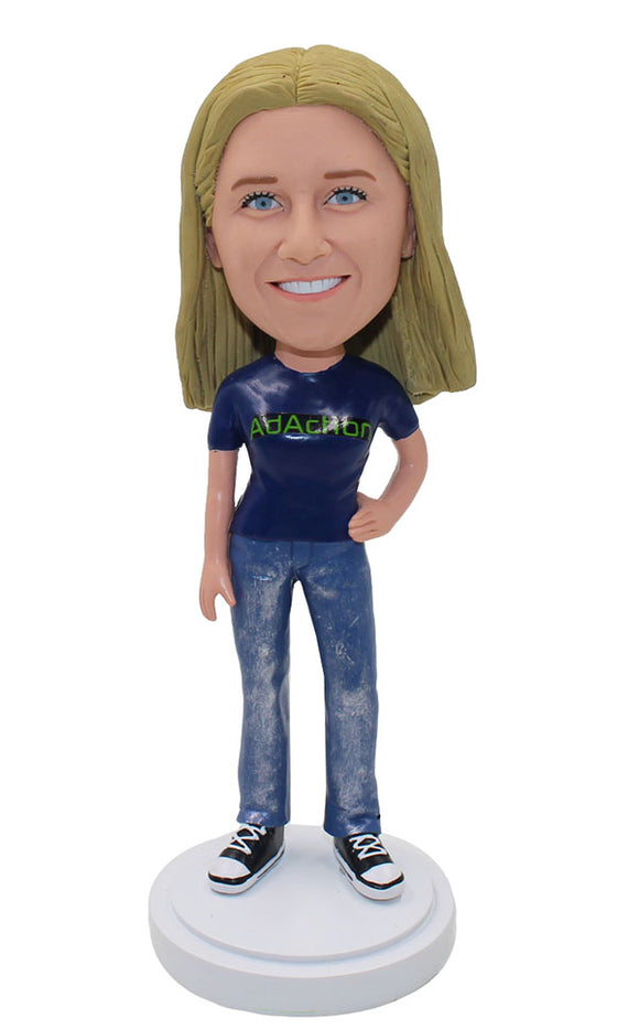 Personalised Bobbleheads Figurine that Look Like You, Custom Affordable Bobbleheads - Abobblehead.com