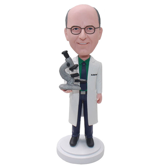 Custom Laboratory Bobblehead, Custom Gifts For Laboratory Professionals - Abobblehead.com
