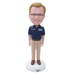 Personalized Action Figure Of Yourself, Custom Bobbleheads T Shirt - Abobblehead.com