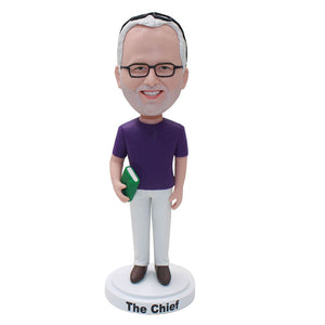 Custom Graduation Bobbleheads Thoughtful Teachers Gifts For Man - Abobblehead.com