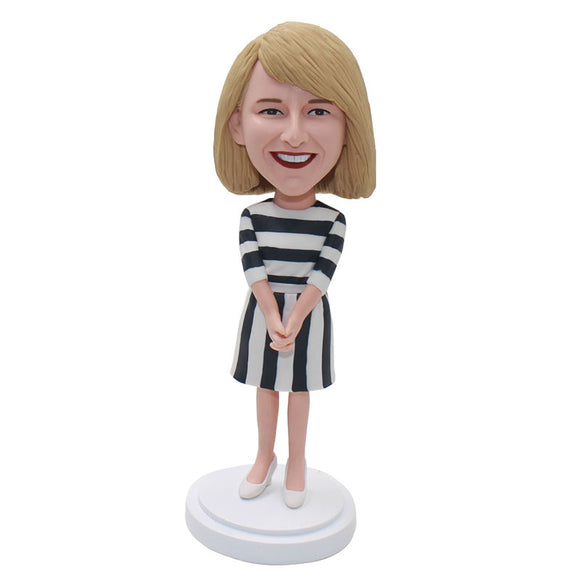 Create Your Own Bobbleheads Doll That Looks Like You Gifts For College Girls - Abobblehead.com