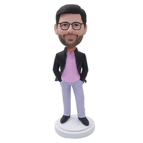 Custom Businessman Bobblehead Make Your Own Bobblehead birthday Who Has Everything - Abobblehead.com